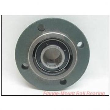 Dodge F2B-GT-17M Flange-Mount Ball Bearing