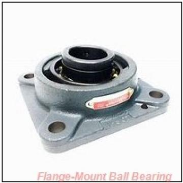 3.0000 in x 6.0000 in x 7.7500 in  Dodge F4BSCM300FF Flange-Mount Ball Bearing