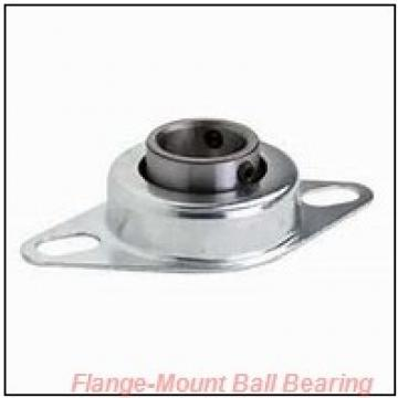 2.9375 in x 6.0000 in x 7.7500 in  Dodge F4B-SCM-215-NL Flange-Mount Ball Bearing