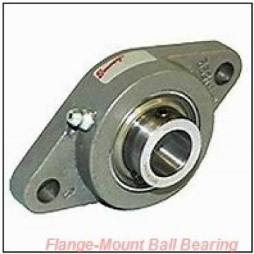 1.0000 in x 2.7500 in x 3.7500 in  Dodge F4BSCAH100 Flange-Mount Ball Bearing