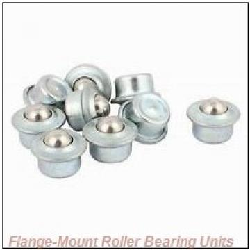 5 in x 13.4400 in x 21.5000 in  Dodge F4BSD500 Flange-Mount Roller Bearing Units