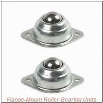 2 in x 3.8000 in x 6.3750 in  Dodge FCE200R Flange-Mount Roller Bearing Units