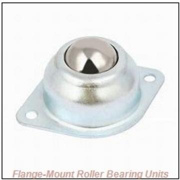 2-11/16 in x 5.5625 in x 9.2500 in  Rexnord ZEF6203 Flange-Mount Roller Bearing Units
