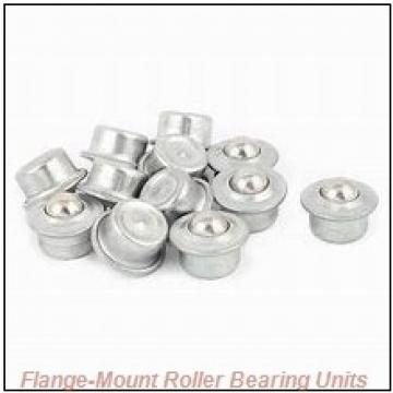 2-7/16 in x 6.0000 in x 8.5600 in  Dodge F4BK207R Flange-Mount Roller Bearing Units