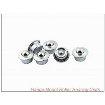3-15/16 in x 7.5000 in x 10.2500 in  Dodge F4BE315R Flange-Mount Roller Bearing Units