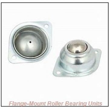4-7/16 in x 10.6100 in x 6.7500 in  Dodge F4BDI407R Flange-Mount Roller Bearing Units