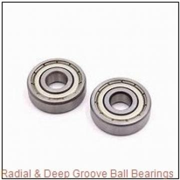 MRC R16ZZ Radial & Deep Groove Ball Bearings