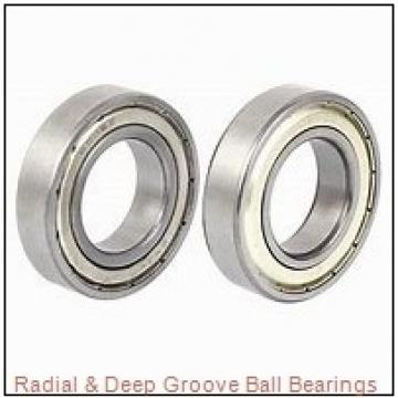 12,7 mm x 28,575 mm x 6,35 mm  Timken S5PP Radial & Deep Groove Ball Bearings
